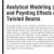 Analytical Modeling of Trapeze and Poynting Effects of Initially Twisted Beams